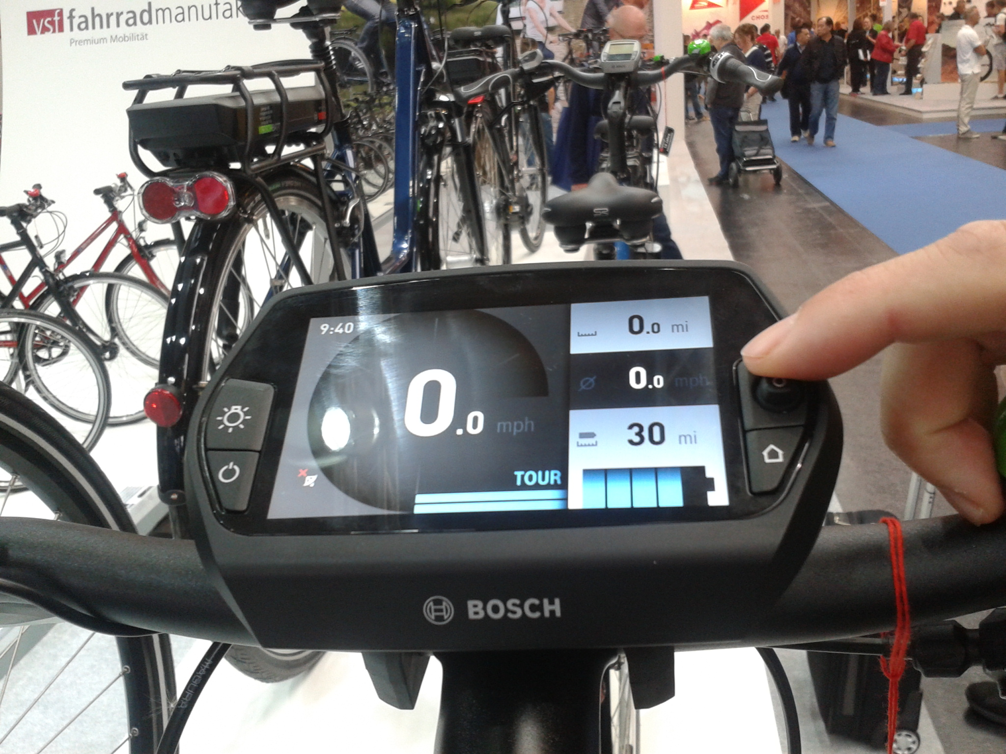 Nouveau display Bosch Nyon