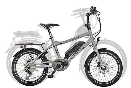 Comparatif vélo électrique taille standard et vélo compact