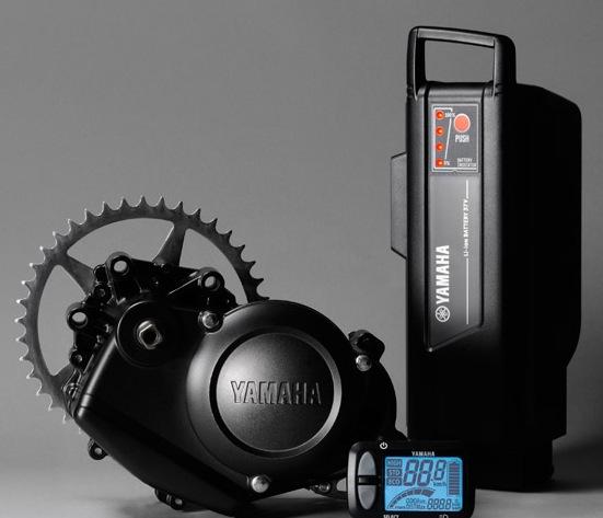 Comparatif de 5 systèmes d'assistance de vélos électriques dans le pédalier