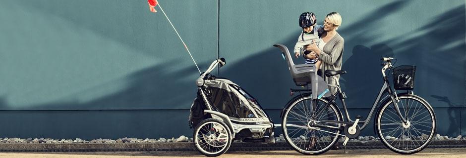 Comparatif remorque vélo enfant VS siège enfant bébé