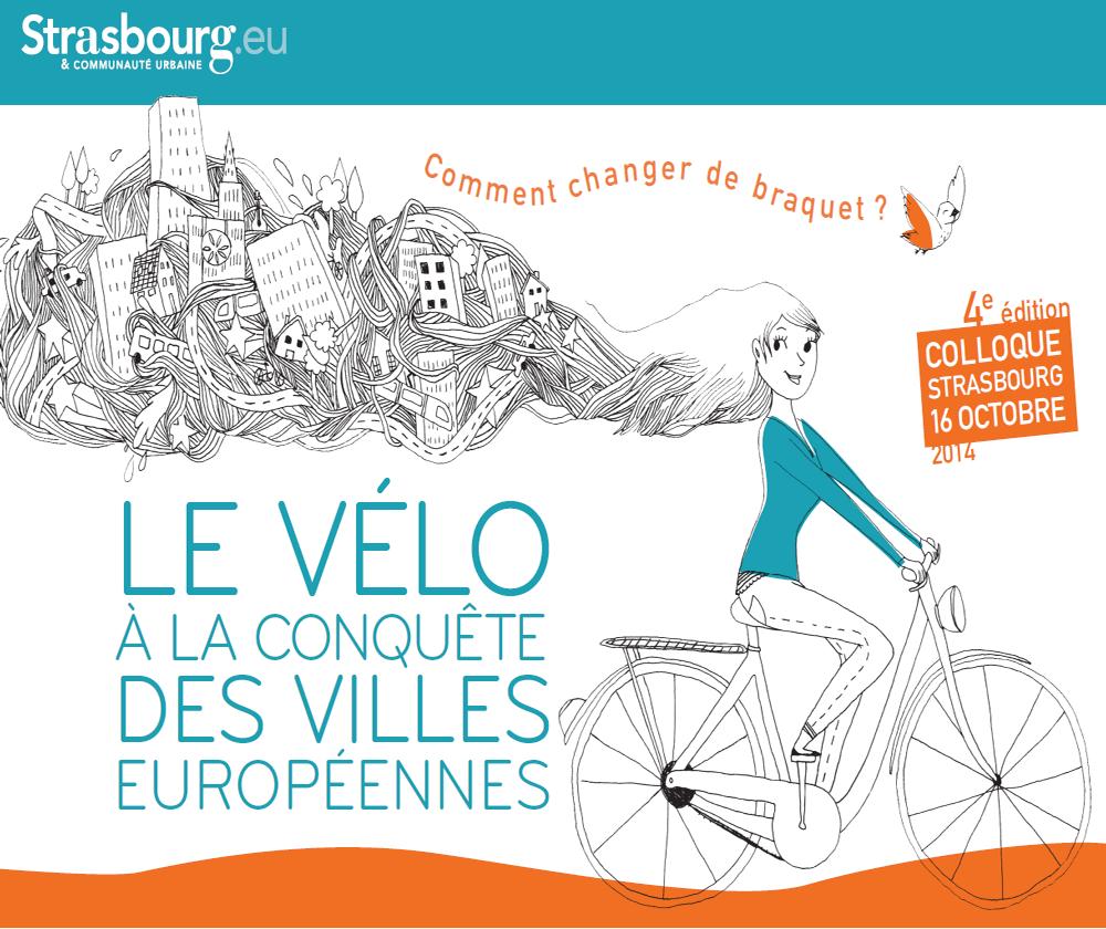 Colloque à Strasbourg : le vélo à la conquête des villes européennes