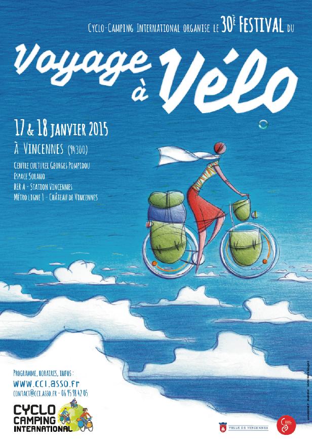 30ème festival du Voyage à Vélo