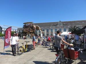 Cyclable Nantes Cargo Bike Meeting 2015 (1)