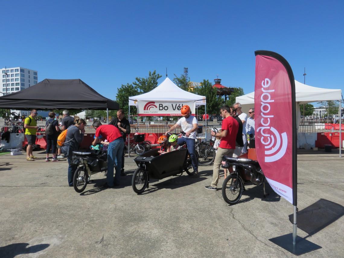 Cyclable au Nantes Cargo Bike Meeting