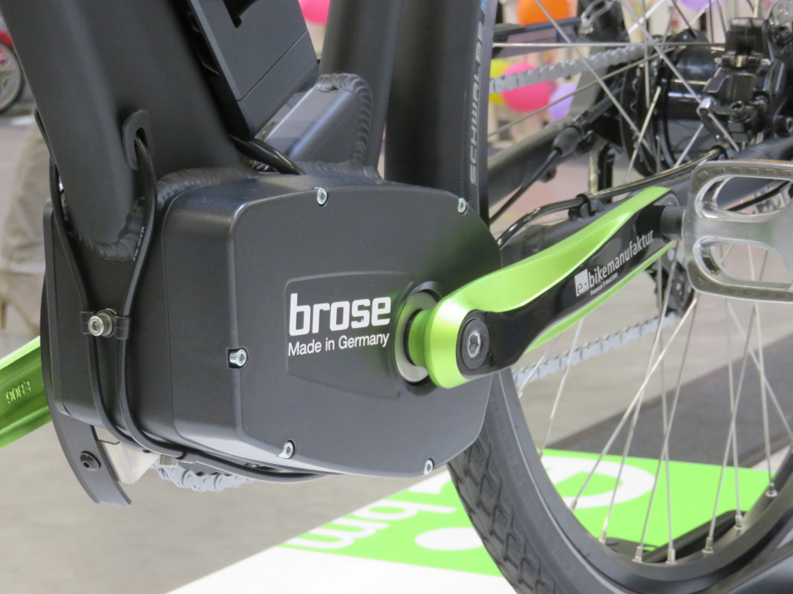 Assistance Brose pour vélo électrique