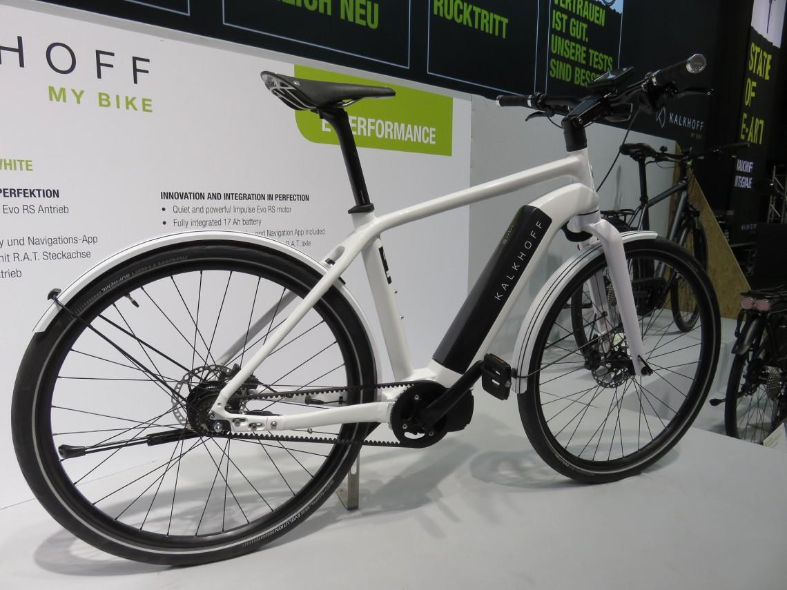 Intégration, une tendance qui se confirme sur le vélo électrique