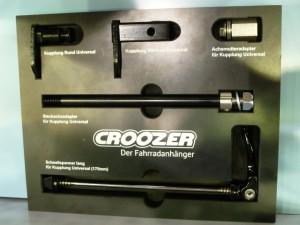 adaptateurs remorque croozer