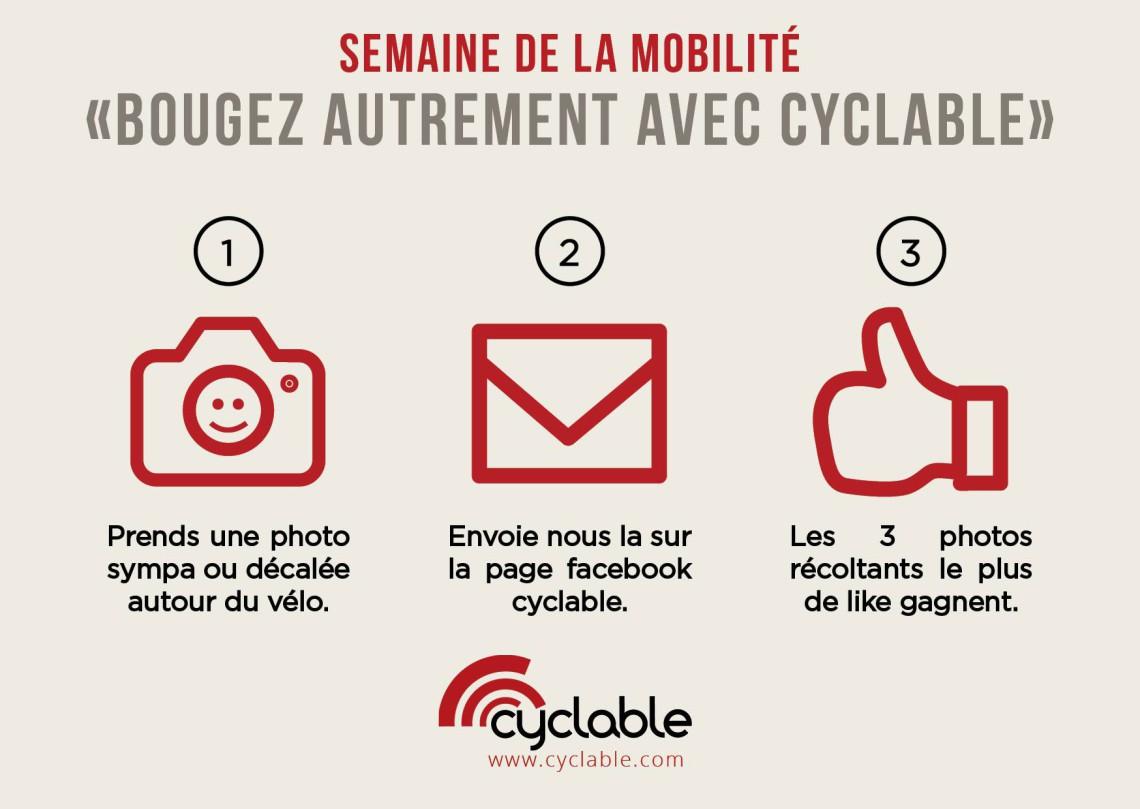 Semaine de la mobilité : lancement d'un concours photo !