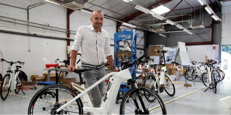 Le vélo électrique à hydrogène