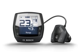 Détail d'une console de vélo électrique Bosch Intuivia