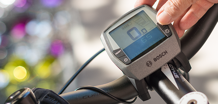 Réglage console vélo électrique Bosch