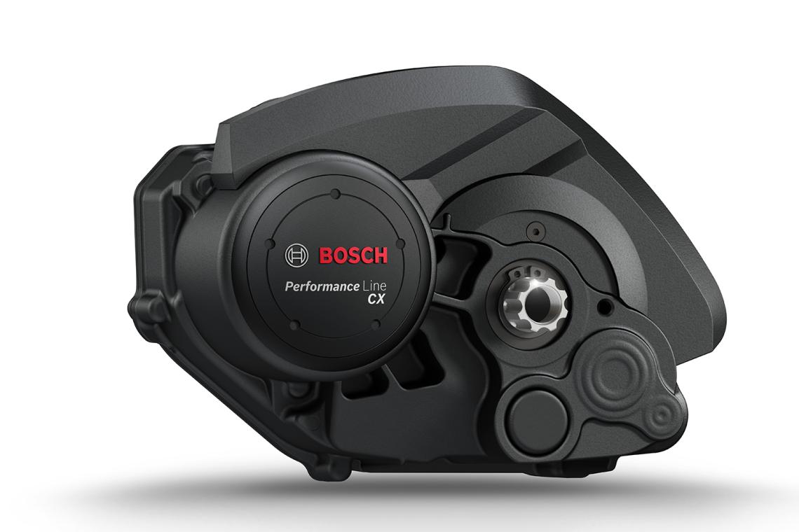 Détail d'un moteur électrique Bosch performance