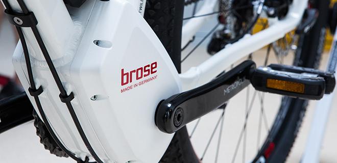 Motorisation Brose, la puissance dans un gant de velours
