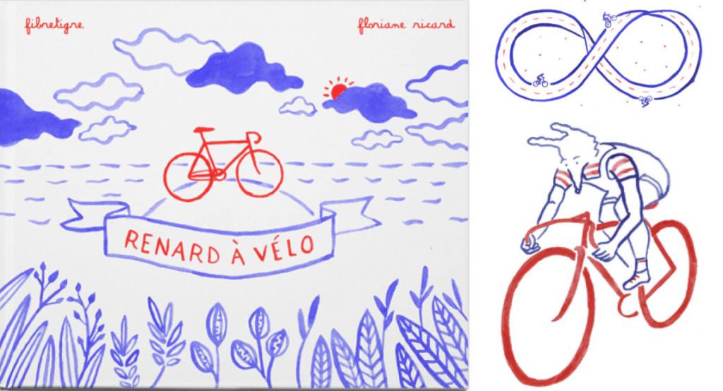 Le livre « Renard à vélo » : quand le vélo rencontre la poésie !