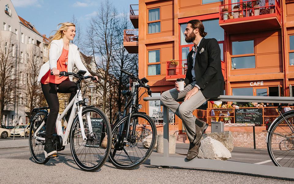 Tourisme à vélo en ville