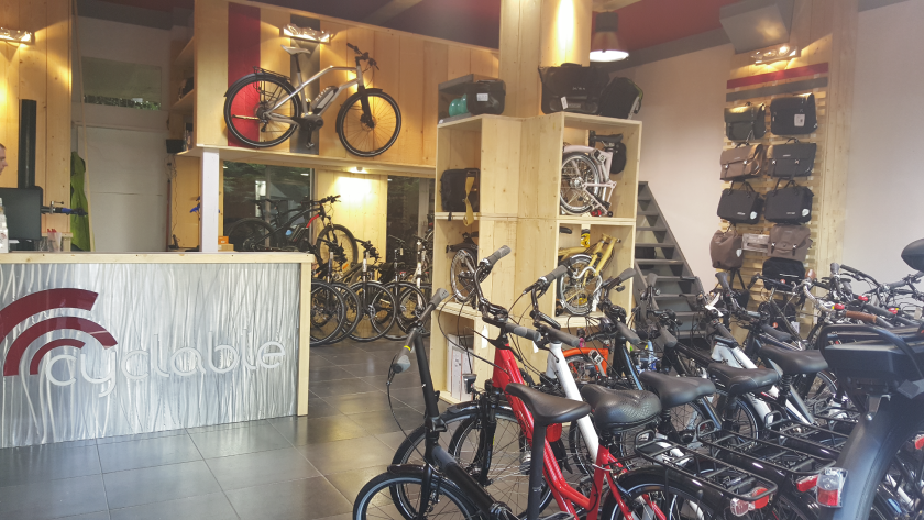 Un nouveau magasin Cyclable à Paris 16