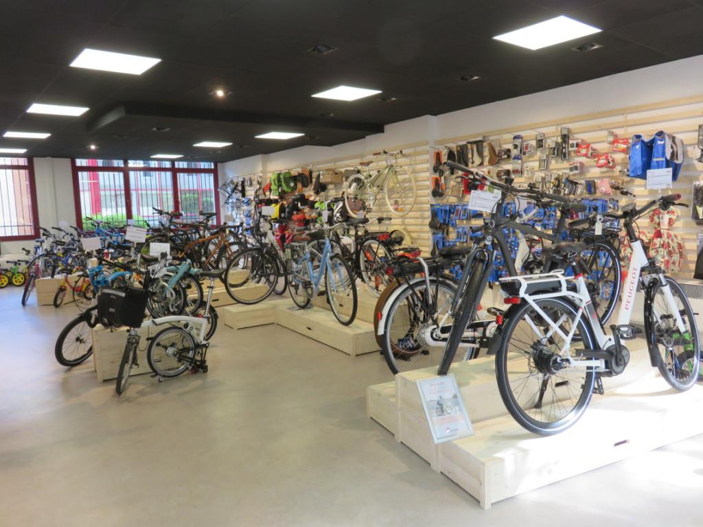 gammes vélo cyclable villeurbanne