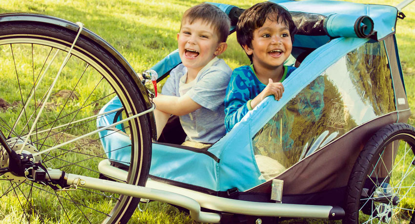 Le guide du transport d'enfants à vélo