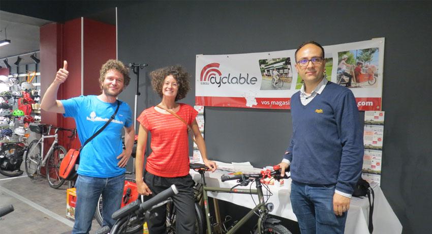 Remise du 1er prix du Concours Aventure Cyclable 2016
