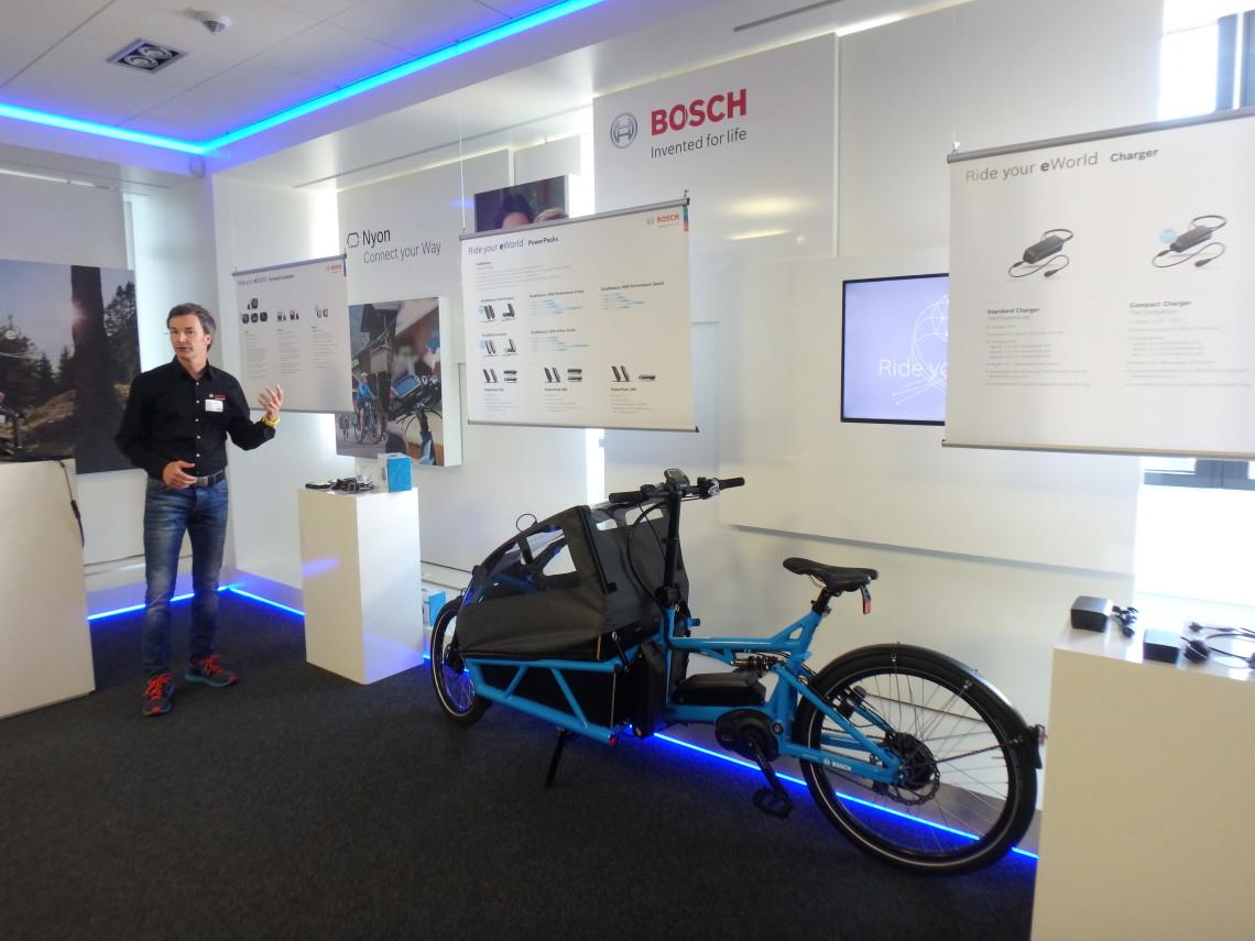 Présentation presse gamme Bosch 2017 eBike Systems