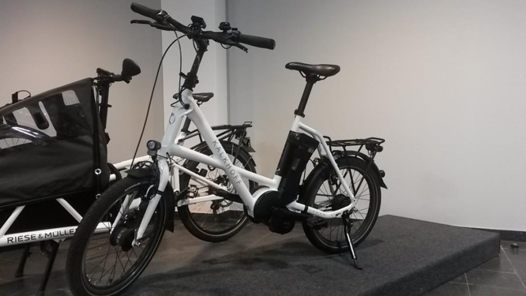 Vélo Sahel compact à eurobike