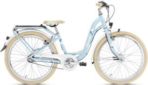 Vélo enfant 24 pouces bleu classic