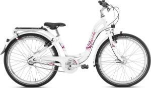 Vélo enfant Skyride 24 pouces blanc