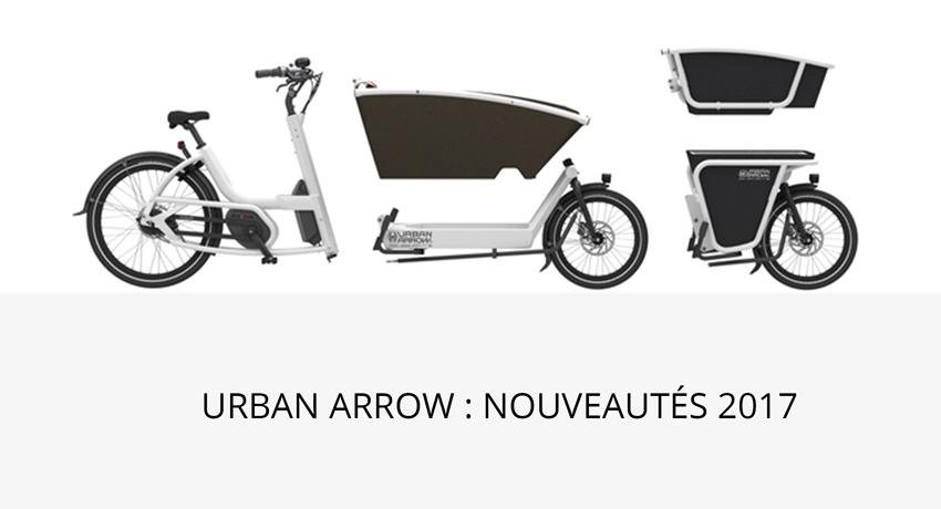 Biporteur électrique Urban Arrow : quelles nouveautés pour 2017?