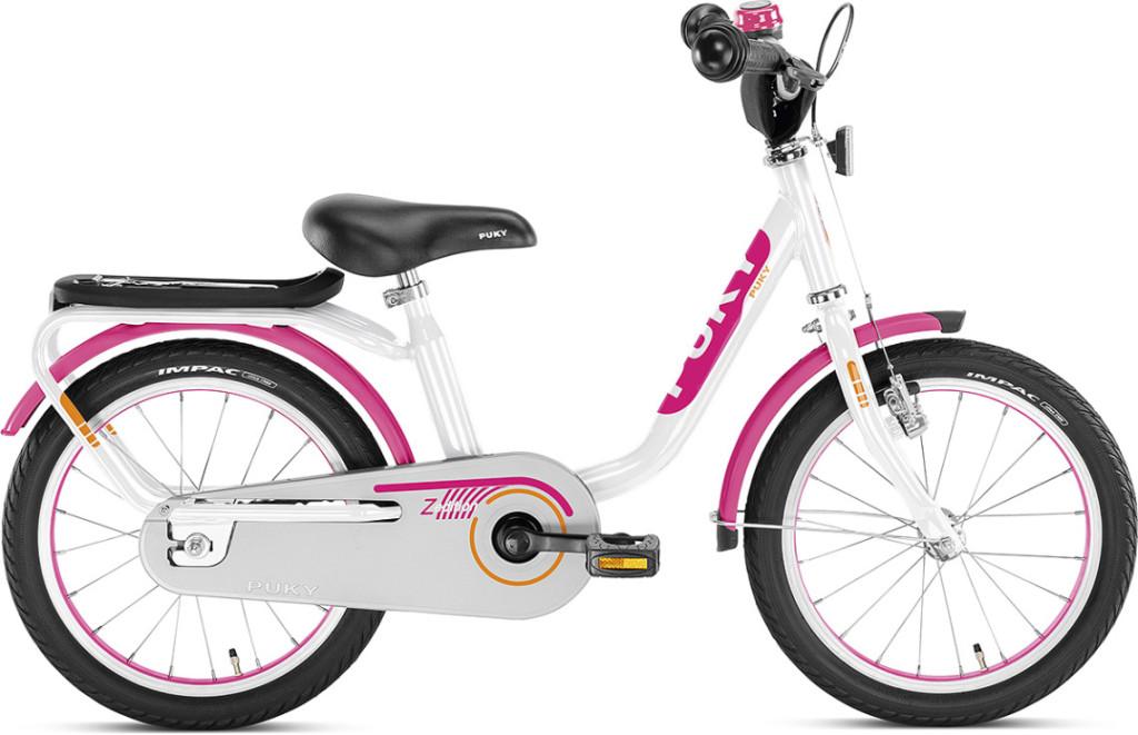Vélo enfant Puky Z6 blanc et rose