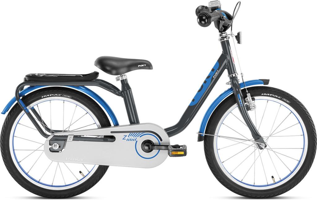 Vélo enfant Puky z6 noir et bleu
