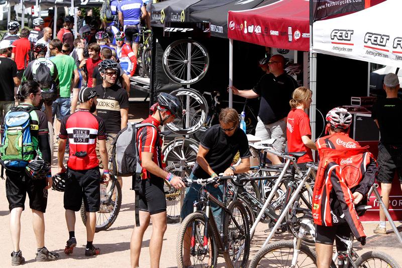 Zone d'essai de vélos Demo Area Eurobike