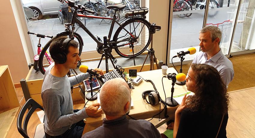 Tout un rayon : actualités vélo à écouter en podcast