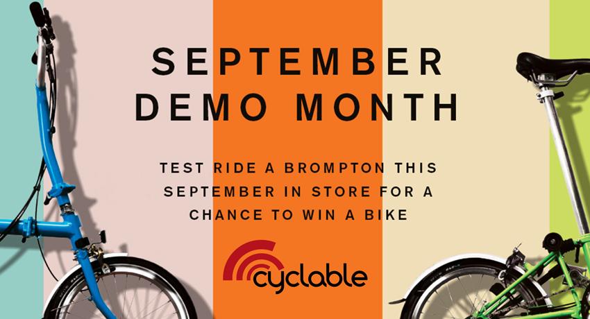 Un vélo Brompton à gagner : participez au jeu concours !