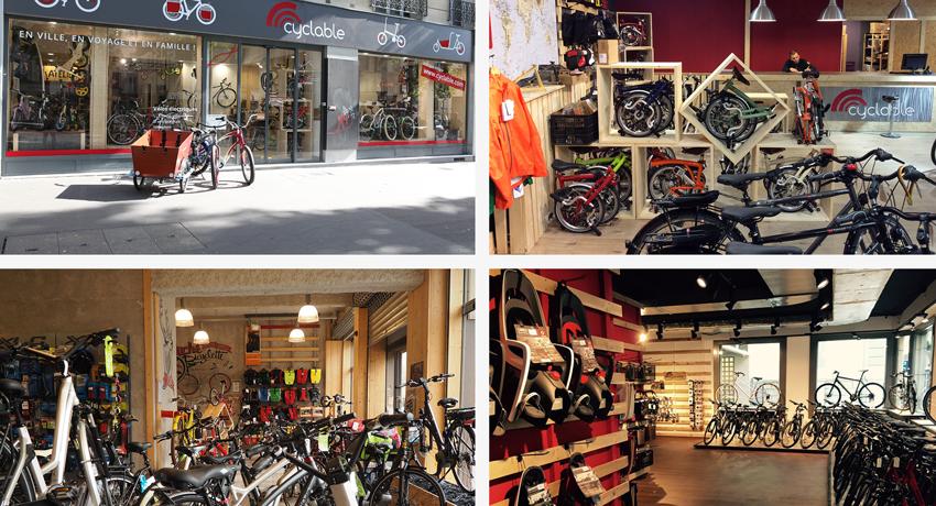 Semaine de la mobilité : ouverture de 4 magasins Cyclable®