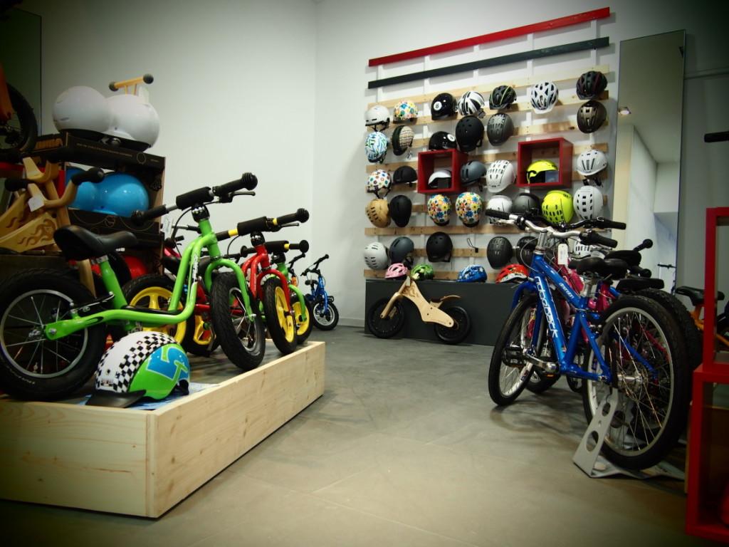 Rayon draisienne et vélos enfant cyclable