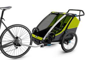 Remorque Thule Chariot Cab mode vélo