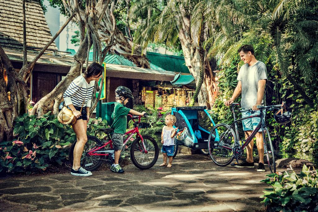 Remorques à vélo enfant Thule 2017 : présentation de la gamme