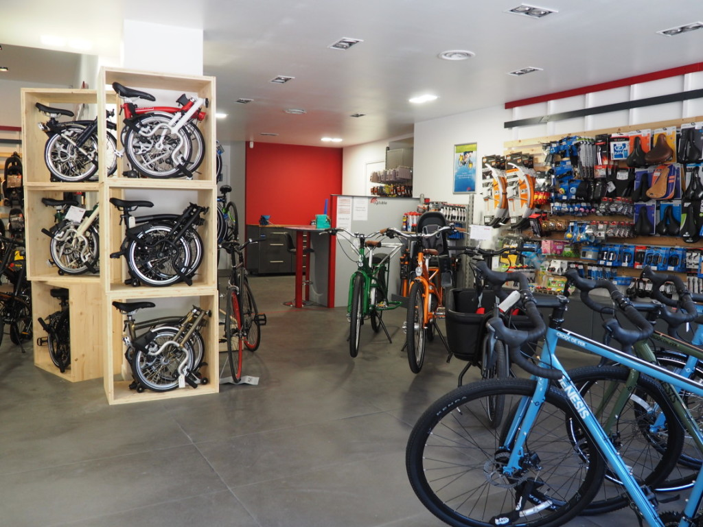 Intérieur magasin Cyclable marseille centre