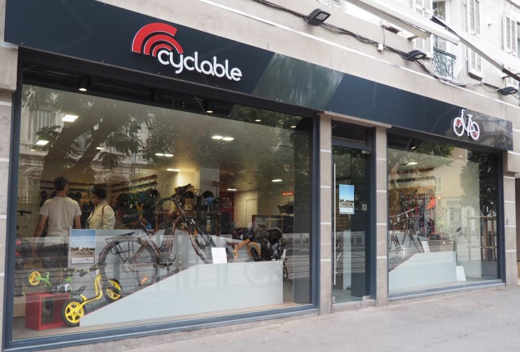 Cyclable ouvre un deuxième magasin de vélos à Marseille
