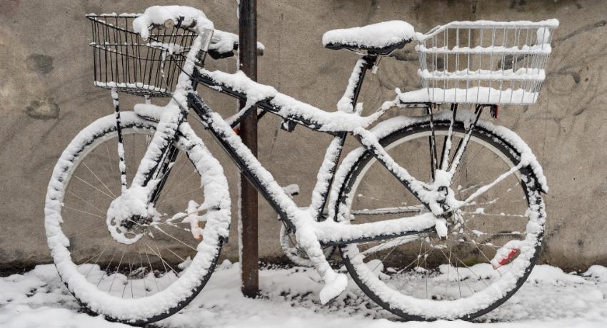 Comment prendre soin de son vélo en hiver ?