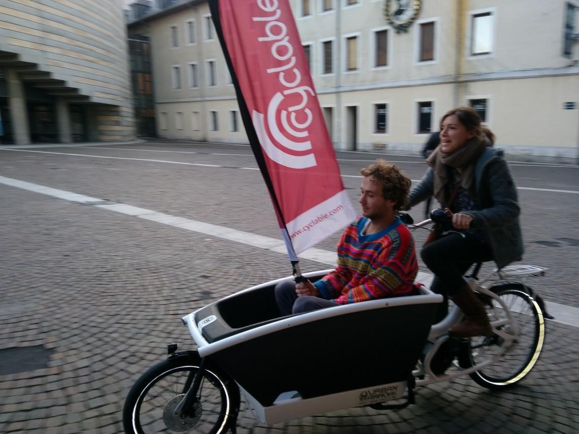 Essai Urban Arrow Chambéry Cyclable