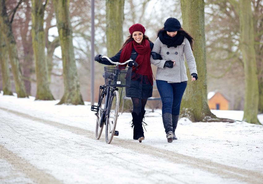 Comment se protéger du froid à vélo ?