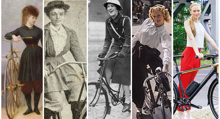 Femmes à vélo : une histoire mouvementée