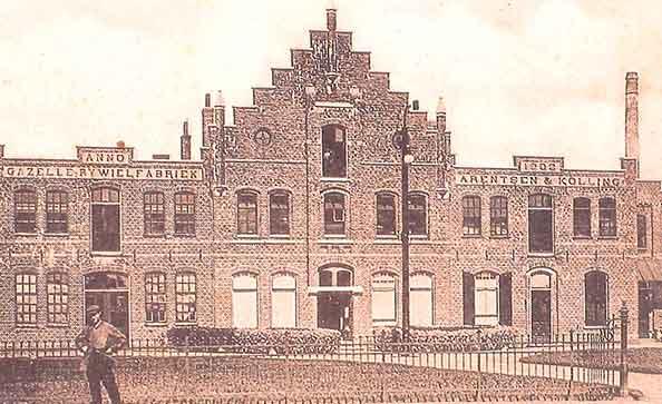 Photo ancienne usine Gazelle