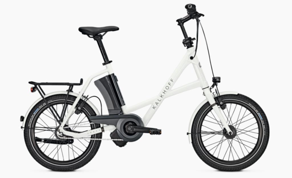 Vélo pliant électrique compact kalkhoff