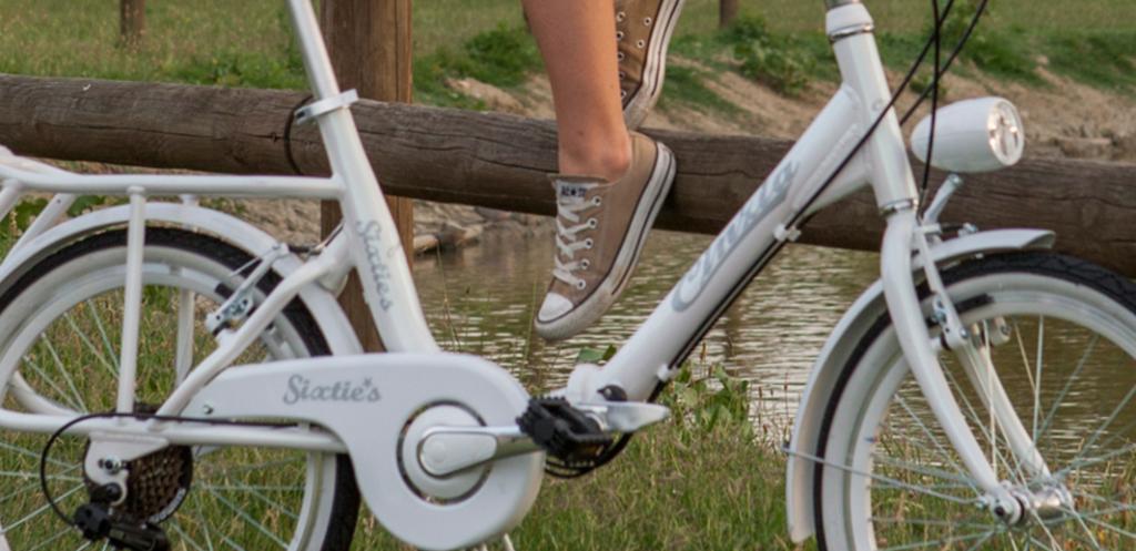 Mini-vélo blanc