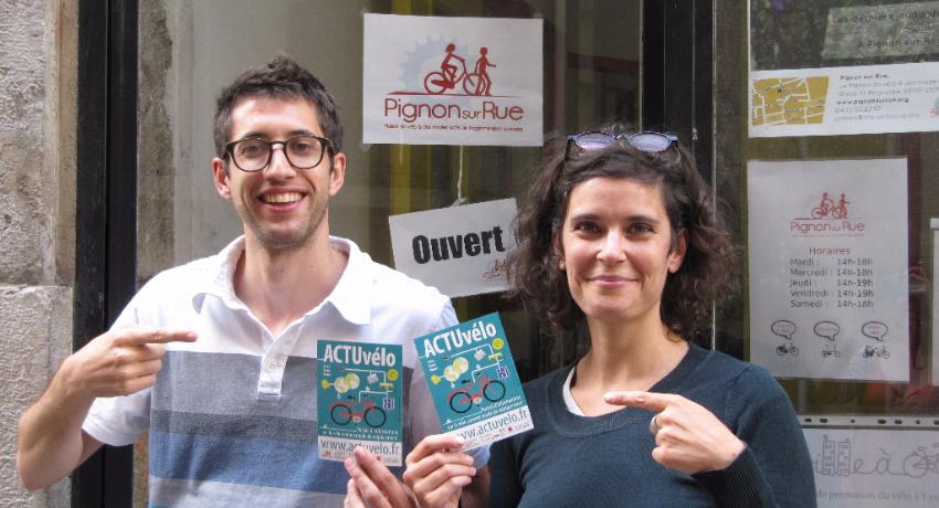 Cyclable participe à la campagne crowfunding pour ActuVélo