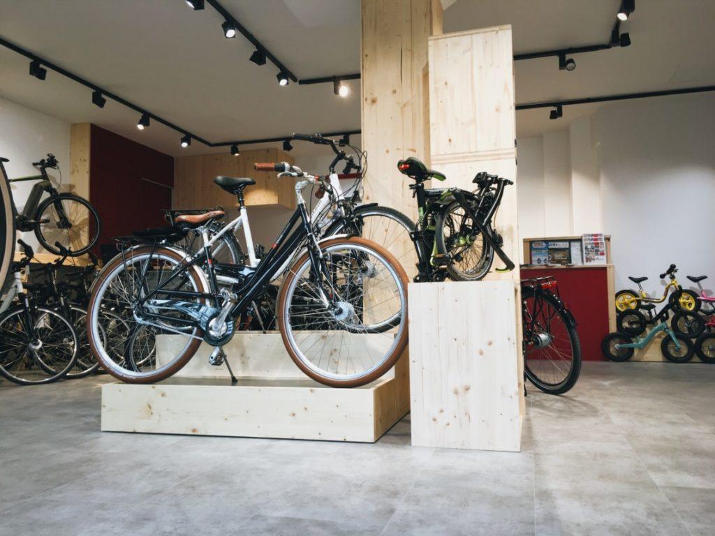 Vélos à l'intérieur de Cyclable Boulogne