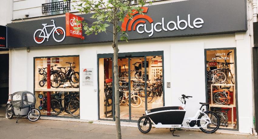 Un nouveau magasin Cyclable à Boulogne Billancourt