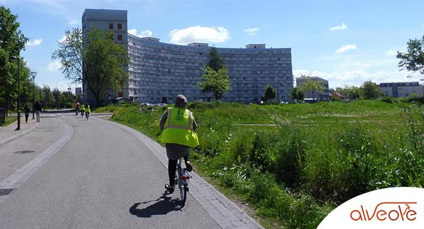 Le vélo intègre l'habitat social